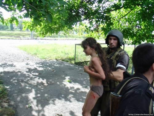 Террористы снова обстреляли жилые кварталы в Дзержинске: один из снарядов попал в детский сад, - МВД - Цензор.НЕТ 4701