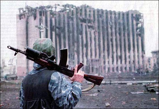 Війна в Чечні.