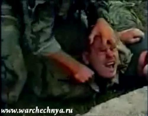 Отрезание Головы Русским Солдатам В Чечне