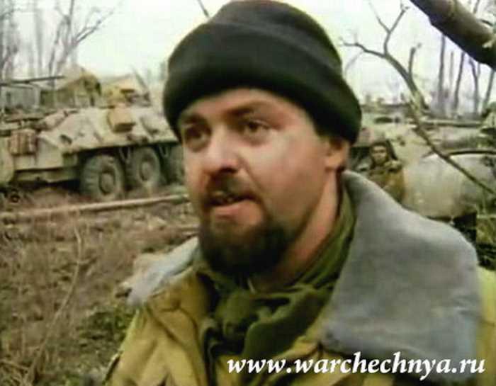 Первая чеченская война. Говорит капитан Антонов