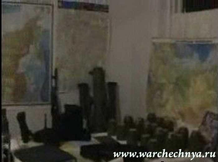 Разведсъёмки чеченских боевиков перед терактом