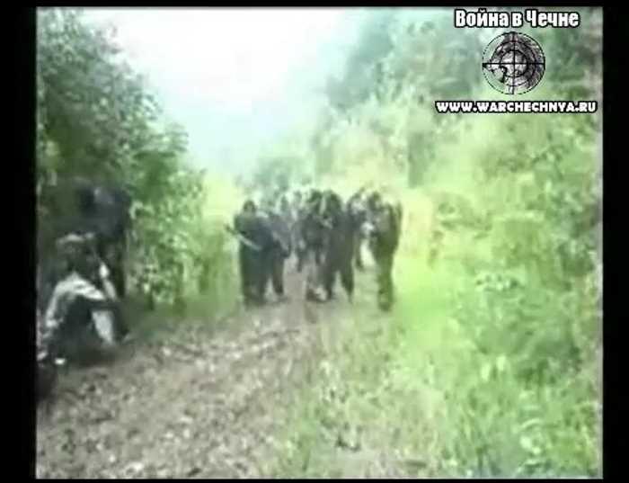 Вторая чеченская война. Засада чеченских боевиков