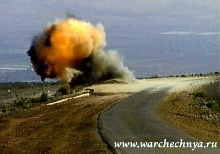 Подрывы российской техники чеченскими боевиками