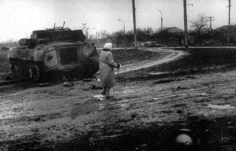 Фото чеченской войны с авторскими комментариями фотокорреспондента Руслана Ямалова