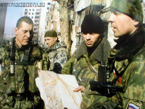 Фото войны в Чечне 3