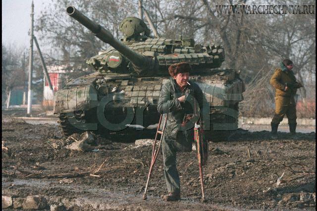 Фото с чеченской войны 1