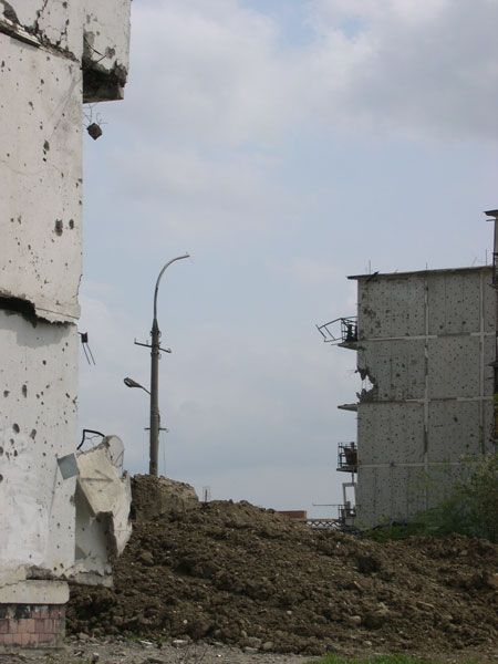 Чечня. Грозный. (весна 2006 г.)