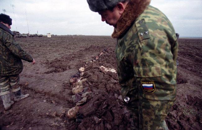 Чеченская война глазами Запада