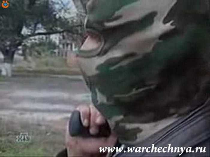 Чечня. Кадры с НТВ