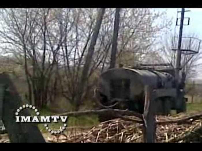 21 апреля 2009г. Чечня, Бамут. Съемки боевиков