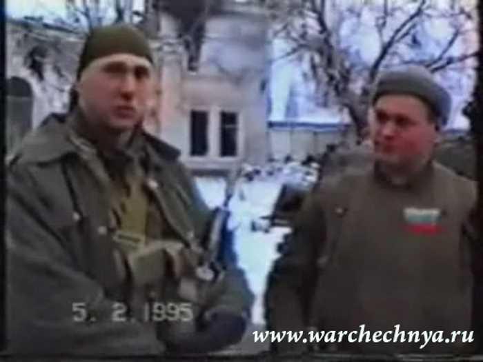 Чечня. Грозный. Рассказ лейтенанта Кравченко о гибели колонны (1995г.)