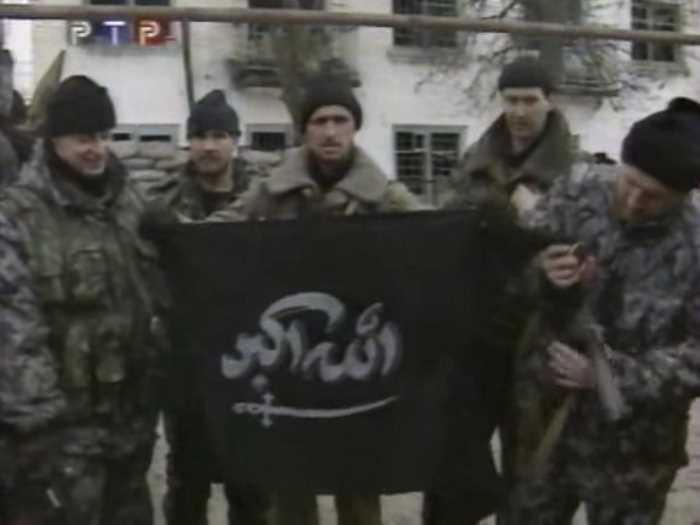 Чечня. Красная армия