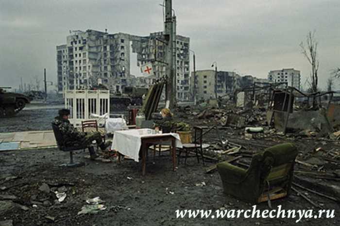 Прогулки по Грозному в 2001 году