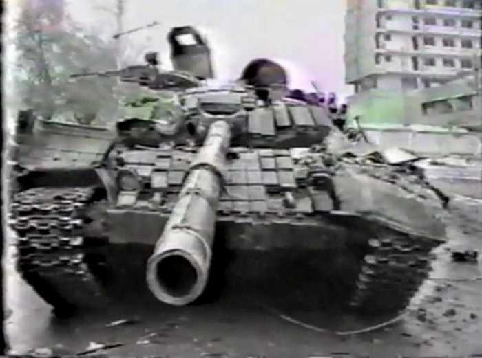 Первая чеченская война. Грозный. 1995 год
