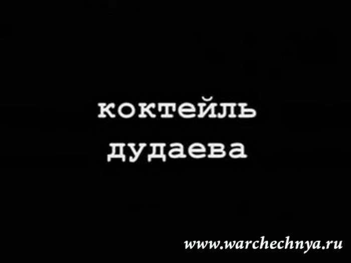 Первая чеченская война. Коктейль Дудаева