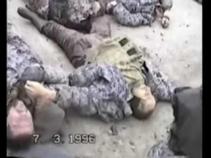 Нарезка видео отрывков первой чеченской войны