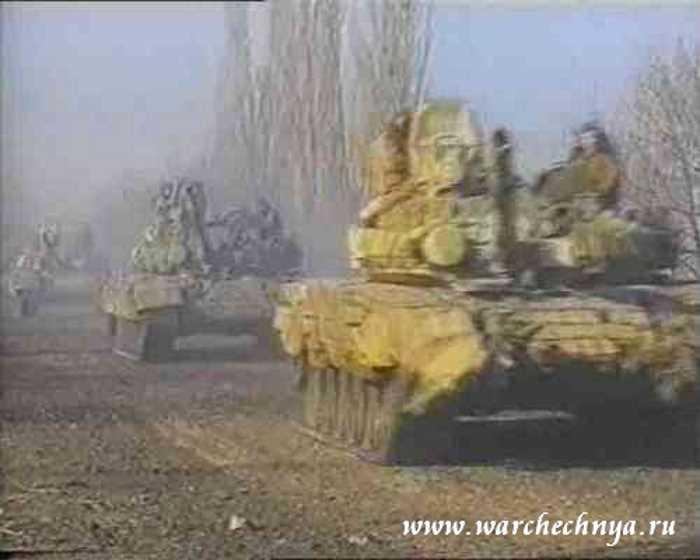 Вторая чеченская война. Бой за Алхан-Юрт в 1999