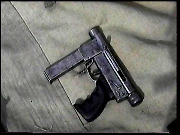 Самодельное оружие чеченских боевиков