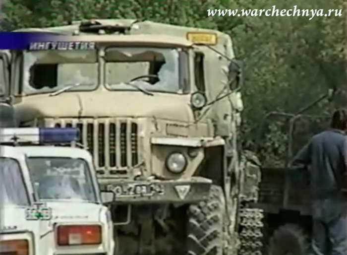 Вторая чеченская война. Расстрел дембелей в Ингушетии (11.05.2000)