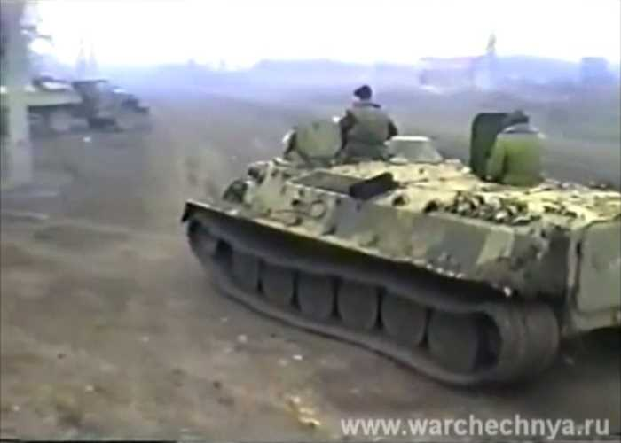 Первая чеченская война. 1995. Полет на войну