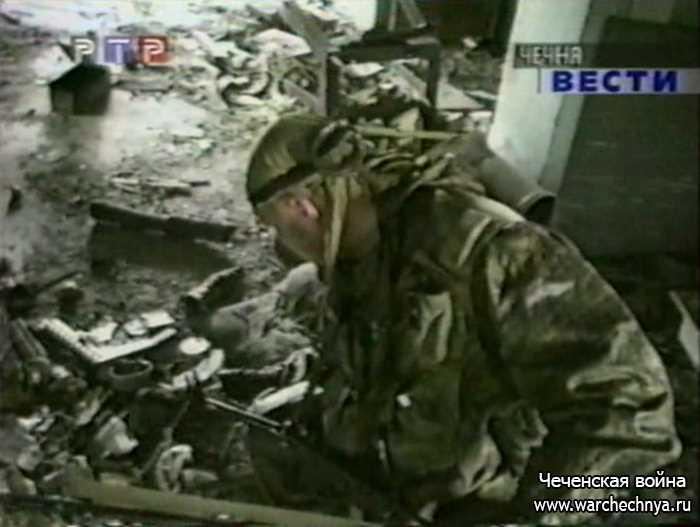 Разминирование Грозного. Апрель 2000 г.