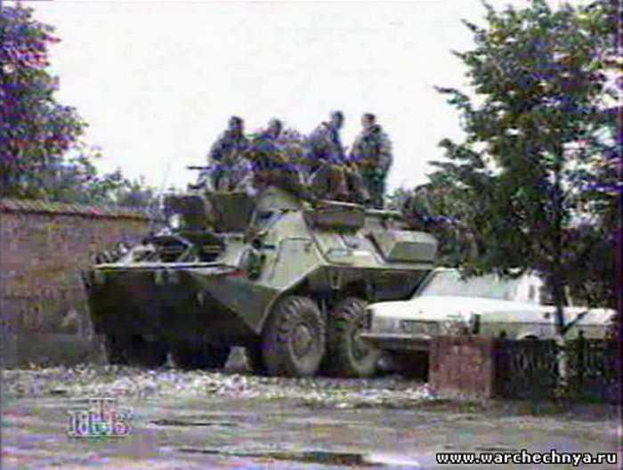 Первая чеченская война. НТВ. Новости с Т.Митковой. Чечня. Эфир от 11.07.1996