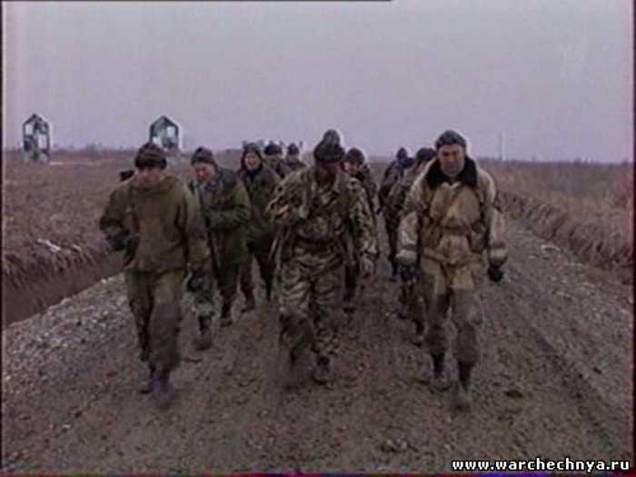 42 МСД в Чечне. Репортаж ОРТ