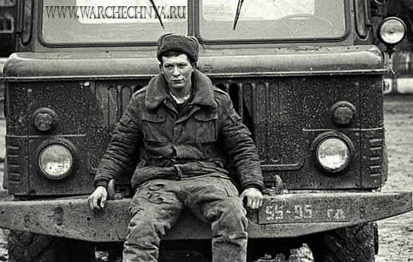 Чеченская война глазами Алексея Сазонова