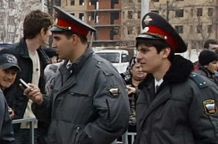 Милиция в Чечне