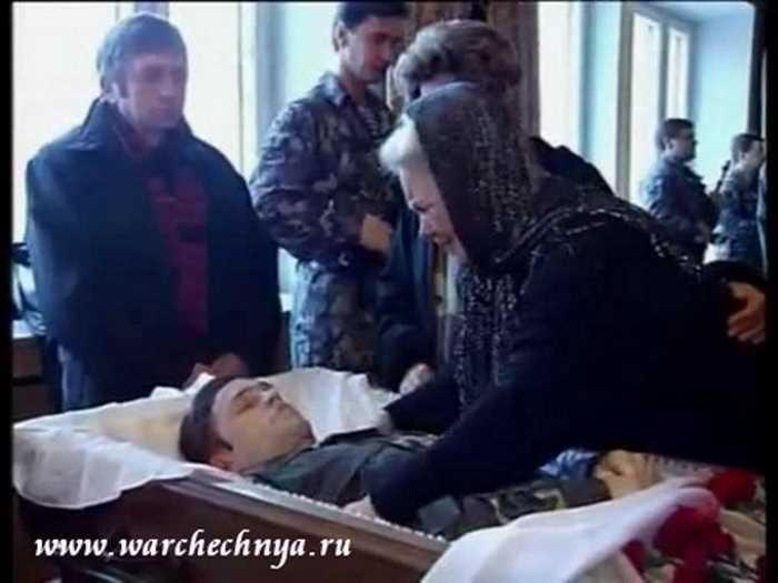 В память о чеченской войне. Ордена