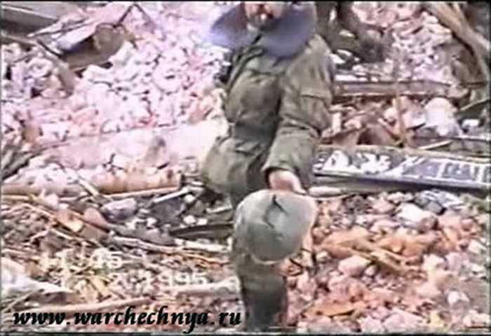 Первая чеченская война. Дудаевский дворец. Грозный 1995
