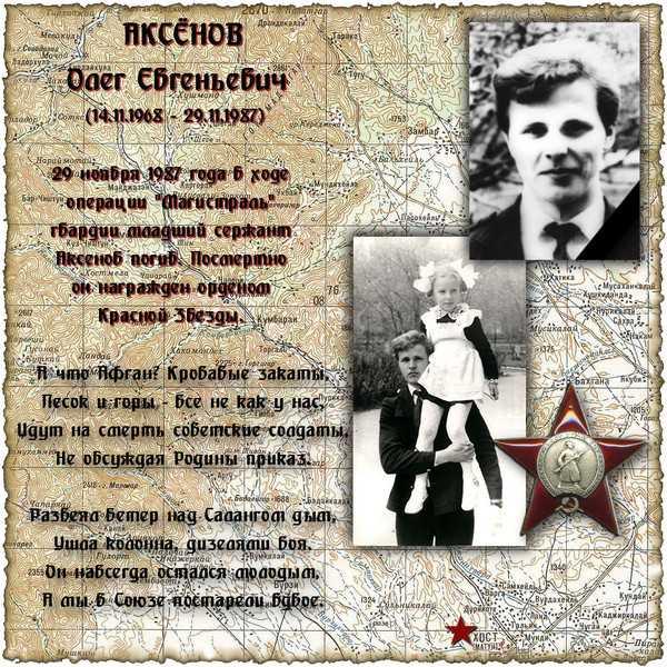 Аксенов Олег Евгеньевич