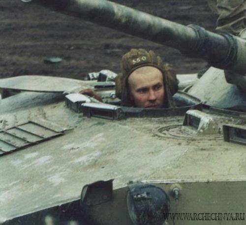 Русские солдаты в Чечне