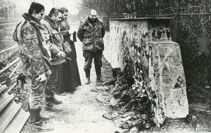 Первая чеченская война. 165 полк морпехов в районе автовокзала