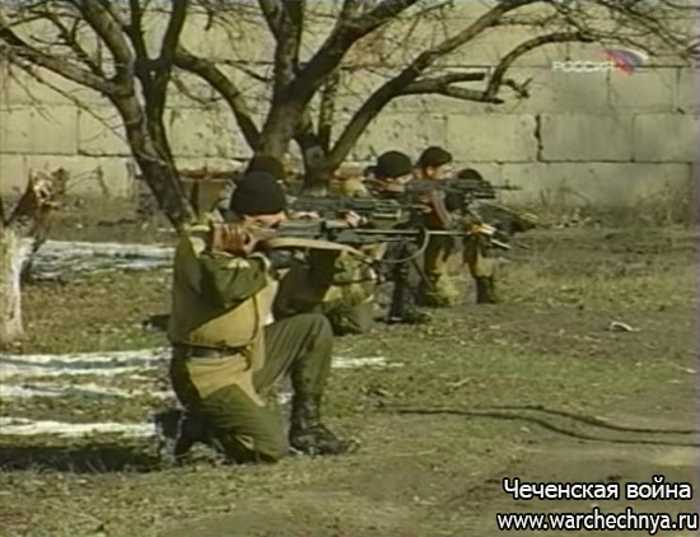 Военная программа Александра Сладкова. Чеченский спецназ