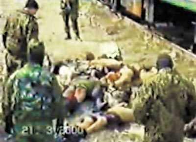Трупы амнистированных чеченских боевиков складывали штабелями