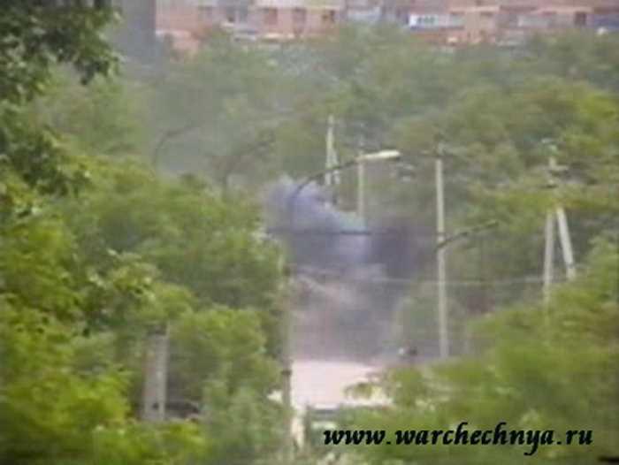 Диверсии чеченских боевиков