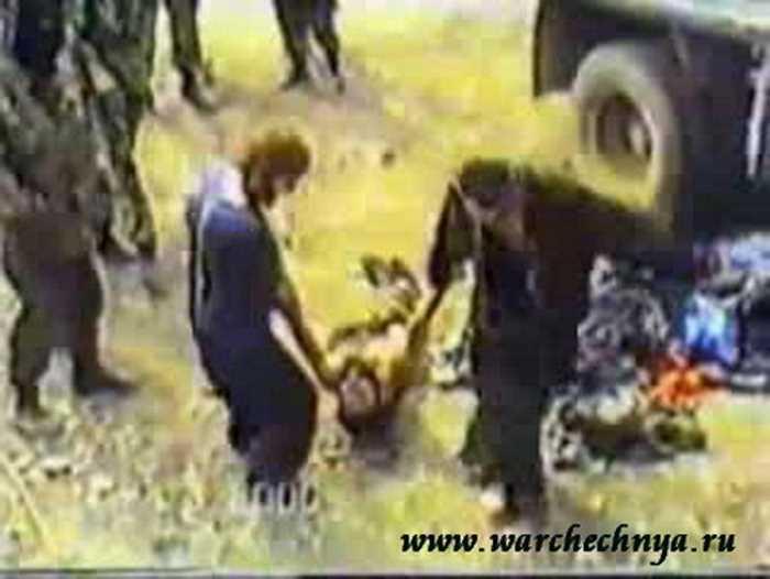 Вторая чеченская война. Пленные боевики Руслана Гелаева
