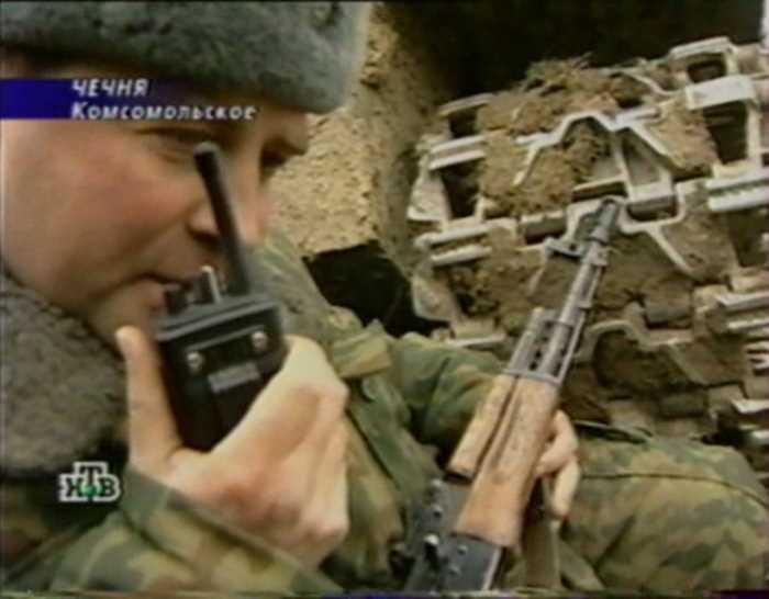 Вторая чеченская война. Штурм Комсомольского (17.03. 2000)