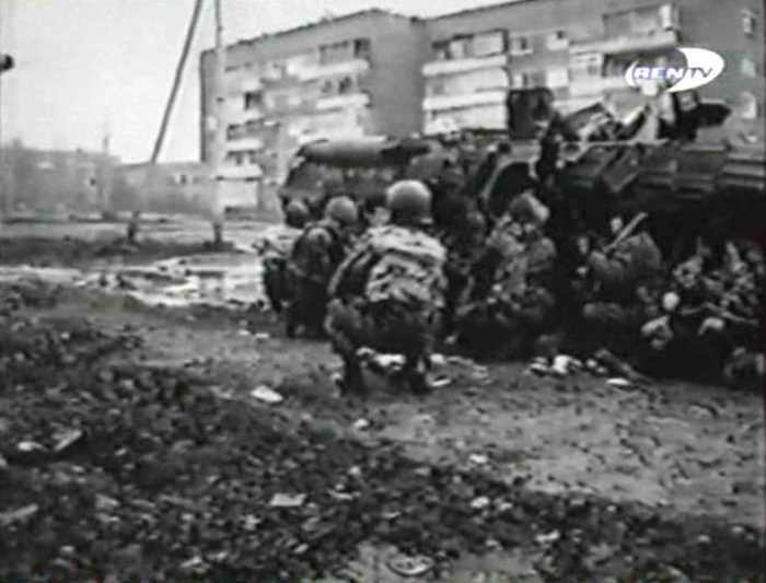 Курганский СОБР в Чечне
