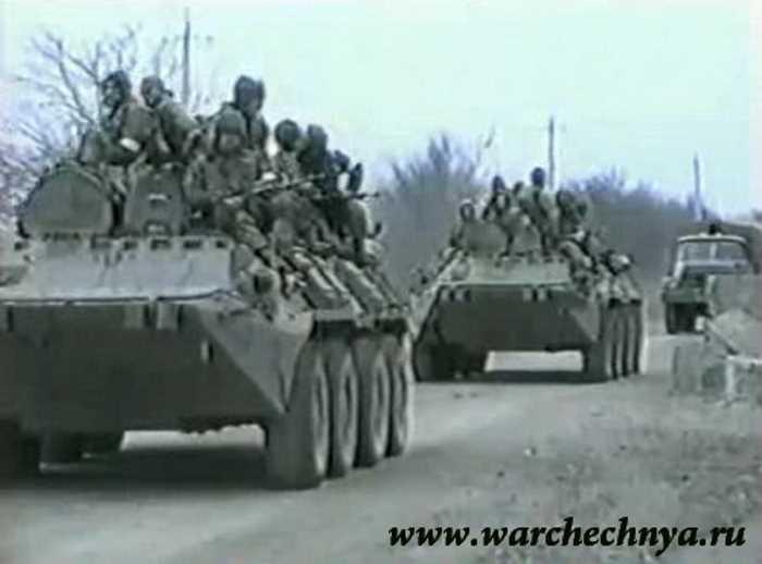 Первая чеченская война. Отряд Витязь в Чечне, апрель 1995 г.