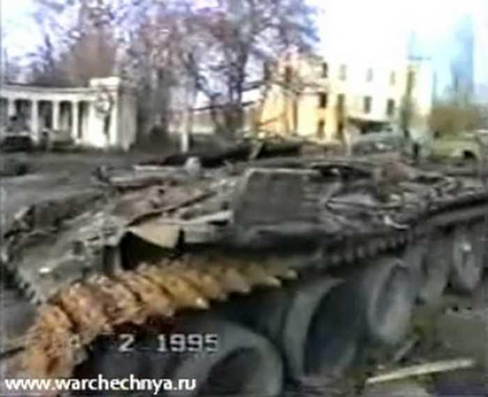 Первая чеченская война. Грозный 4.02.1995