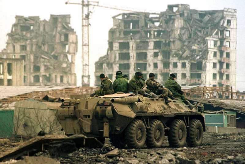 Вторая чеченская война. Штурм Грозного, 1999 год