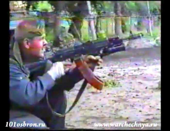 Первая чеченская война. Видеофильм-клип о 101 ОсБрОН ВВ МВД РФ