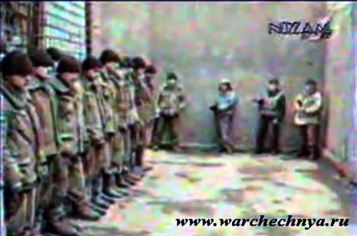 Первая чеченская война. Военнопленные в Грозном, 1995 год