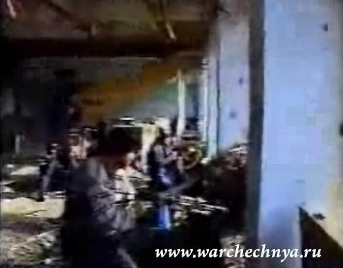Чечня. Видео боевиков. Вторая чеченская война