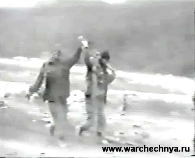 245 полк. Нападение на колонну федеральных сил чеченскими боевиками Хаттаба под Ярыш-Марды. Полная запись.