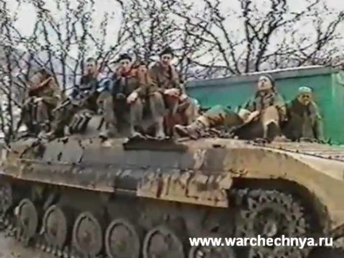 Вторая чеченская война. Чечня. 276 МСП