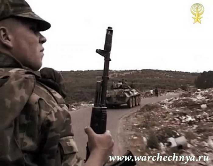 Вторая чеченская война. Бой у села Первомайское