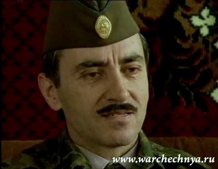 Джохар Дудаев. Герменчук, 1995 г.